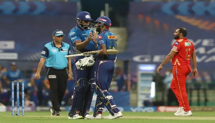 IPL 2021, MI vs KXIP: অলরাউন্ড পারফরম্যান্স করে Punjab-কে হারিয়ে প্লে-অফের আশা জিইয়ে রাখল Mumbai
