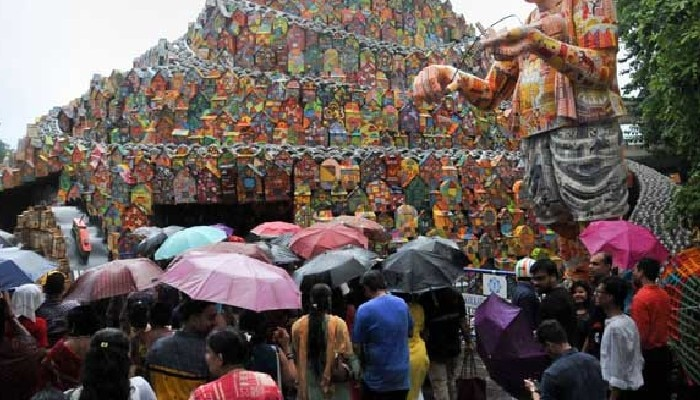 Durga Puja Rain: অষ্টমীর সকালে বৃষ্টিতে ভিজল কলকাতা, কেমন থাকবে আগামী কয়েকদিনের আবহাওয়া?