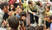 কচিকাঁচাদের হাতে কেক-মিষ্টি খেয়ে পাল্টা শীতবস্ত্র উপহার দিয়ে জন্মদিন পালন জ্যোতিপ্রিয় মল্লিকের