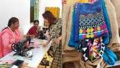 ফেলা দেওয়া শাড়ি, বেডকভার দিয়ে ক্যারি ব্যাগ, অভিনব উদ্যোগ আলিপুর শান্তি সংঘের
