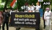 কৃষি আইনের বিরুদ্ধে অভিনব প্রতিবাদ, ট্রাক্টর চালিয়ে সংসদের পথে Rahul Gandhi