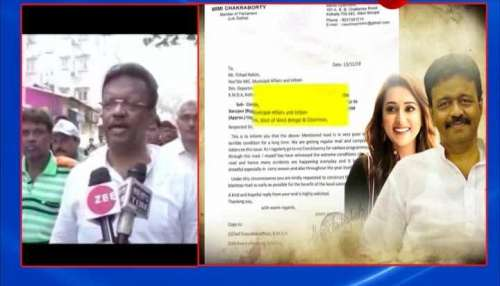 Kolkata mayor Firhad Hakim reacts on Jadavpur MP Mimi Chakrabortty's letter