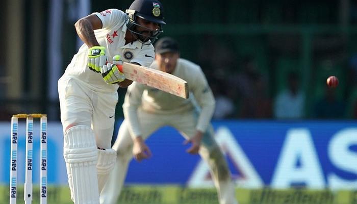 ভারতের প্রথম ইনিংস শেষ হল ৩১৮ রানে