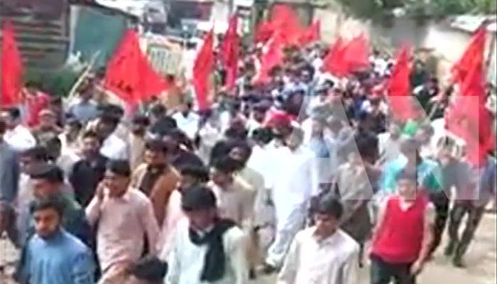 'স্বাধীনতা চাই', বিক্ষোভে উত্তাল পাকিস্তান