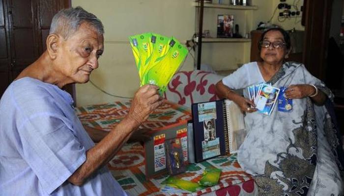 দশ নম্বর বিশ্বকাপ! রাশিয়ায় বসে পরস্পরকে 'চিয়ার্স' বলতে চান কলকাতার দম্পতি