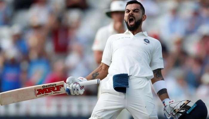 ICC টেস্ট র্যাংকিংয়ে শীর্ষে বিরাট কোহলি