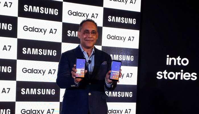 তিনটি রিয়ার ক্যামেরা-সহ ভারতে লঞ্চ করল Galaxy A7