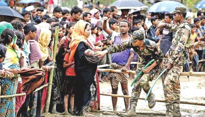 রোহিঙ্গাদের একটি দলকে আজ মায়ানমারে ফেরত পাঠাচ্ছে ভারত