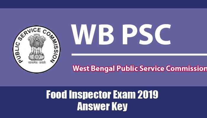 PSC Food Sub-Inspector Exam 2019 Answer Key: দেখে নিন মিলল কতগুলো উত্তর