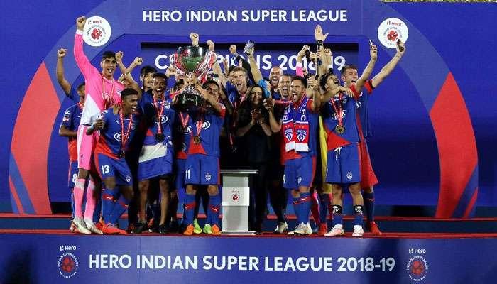 ISL 2018-19: নতুন চ্যাম্পিয়ন বেঙ্গালুরু এফসি