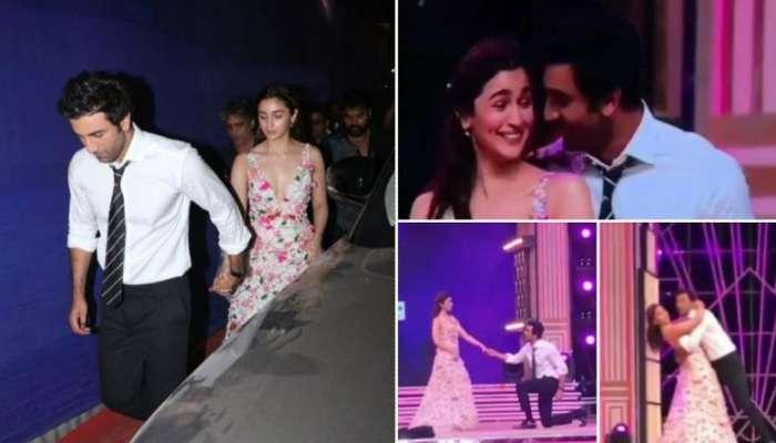 Zee Cine Awards-এ নজর কাড়ল রণবীর-আলিয়ার 'রোম্যান্টিক ডান্স'