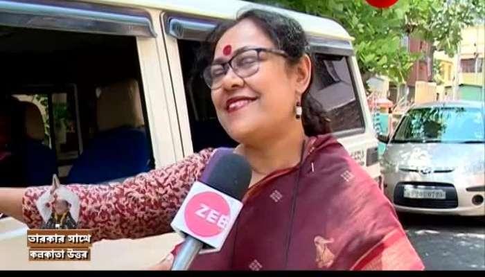 Tarakar Sathe with Kaninika Ghosh