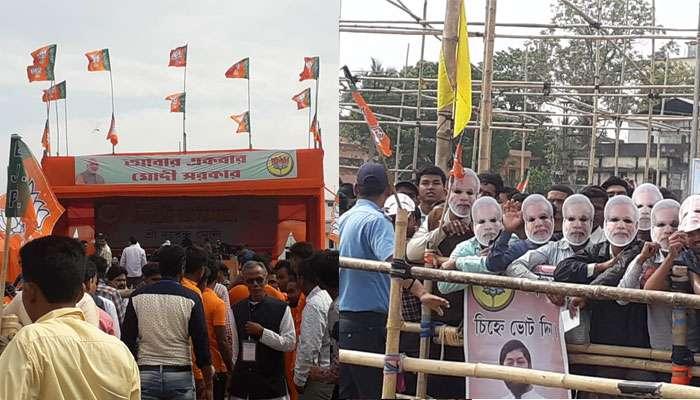 উত্তরবঙ্গে প্রচার যুদ্ধ,আজ কোচবিহারে মোদী