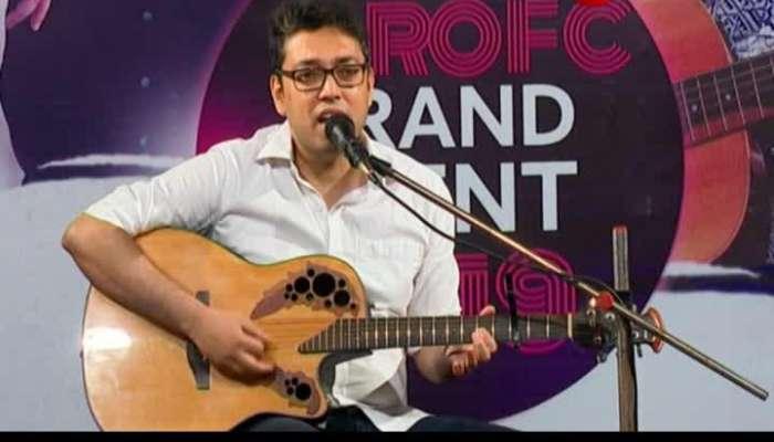 Singer Anupam Roy's program in his fan club