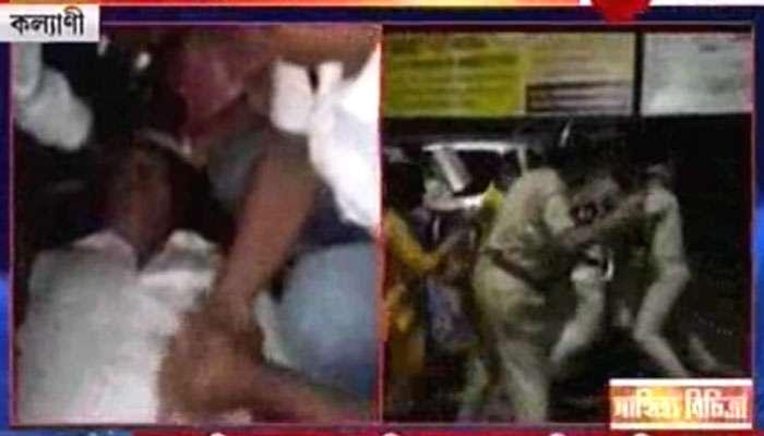 পার্শ্বশিক্ষকদের আন্দোলনে ধুন্ধুমার কল্যাণী, বেধড়ক লাঠিচার্জ করে অনশনকারীদের হঠাল পুলিস