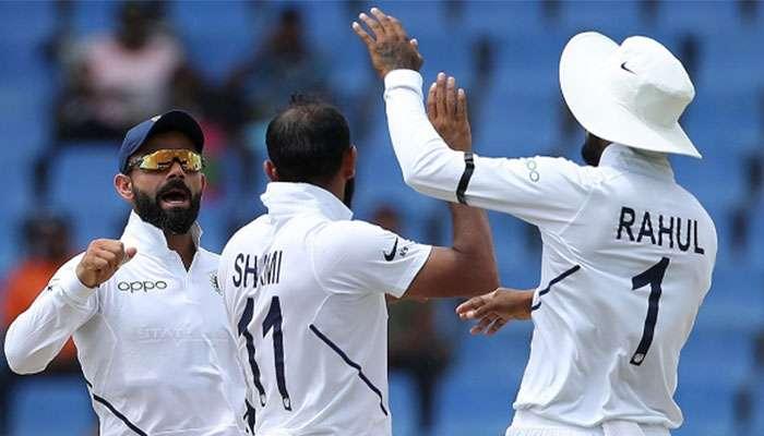 বুমরাহ-রাহানের দাপটে ধরাশায়ী ওয়েস্ট ইন্ডিজ, অ্যান্টিগা টেস্টে ৩১৮ রানে জয়ী ভারত