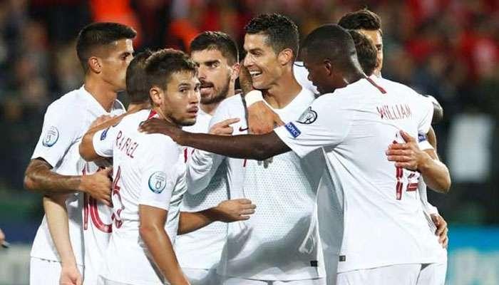Euro 2020 Qualifiers: রোনাল্ডোর ৪ গোল, পর্তুগালের বিরাট জয়