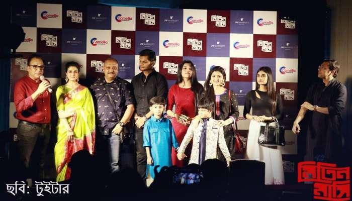 'মিতিন মাসি'র মিউজিক লঞ্চে হাজির কোয়েল মল্লিক, অরিন্দম শীল সহ তারকারা