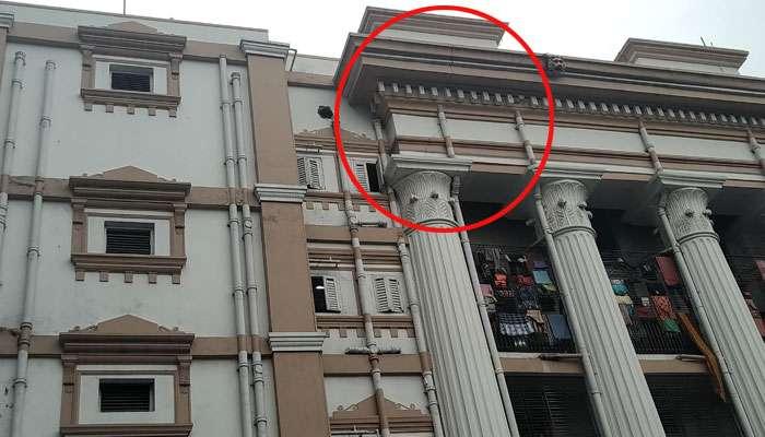 মাটিতেই কি বসে যাচ্ছে কলকাতা মেডিক্যাল কলেজের হেরিটেজ বিল্ডিং? চিন্তায় কর্তৃপক্ষ
