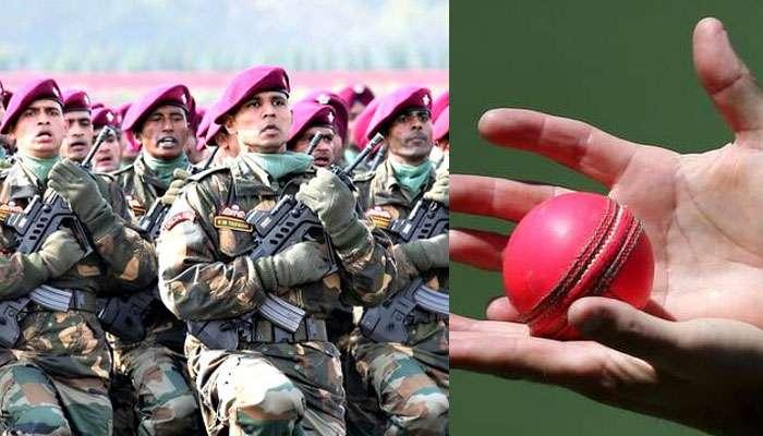 ইডেনে কোহলিদের হাতে গোলাপী বল তুলে দেবে ভারতীয় সেনা
