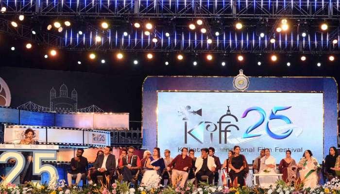 ২৫তম কলকাতা আন্তর্জাতিক চলচ্চিত্র উৎসব, দেখে নিন কিছু উজ্জ্বল মুহূর্ত...