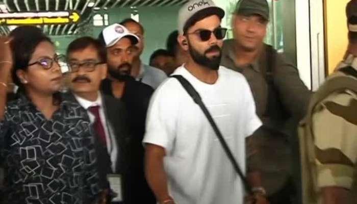 Virat Kohli comes to Kolkata