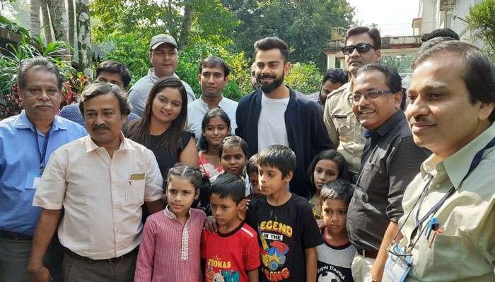 সান্তা সেজে সোনারপুরের HIV আক্রান্ত শিশুদের হোমে বিরাট কোহলি, তারপর...