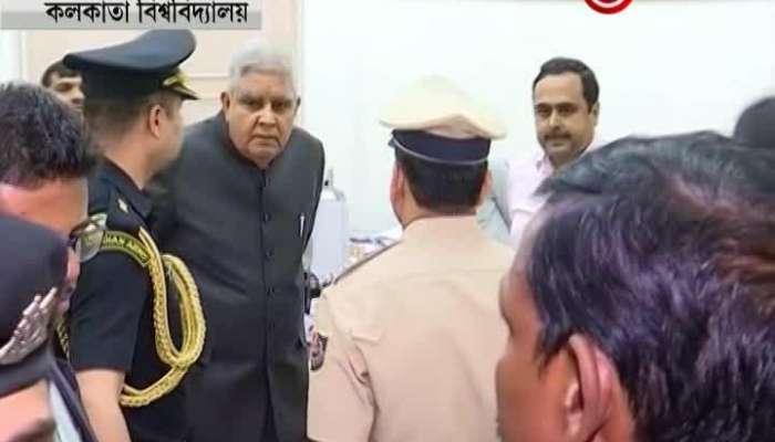 Governor visits Calcutta University
