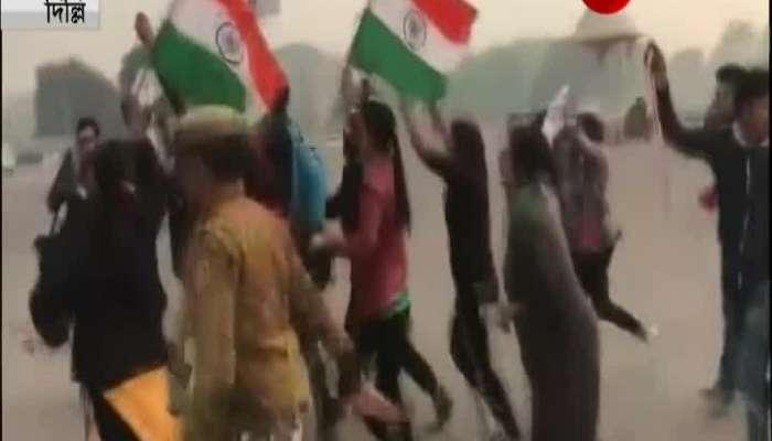 Protests at Delhi