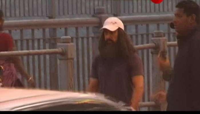 Amir Khan Shoots at Howrah Bridge for Laal Singh Chadda