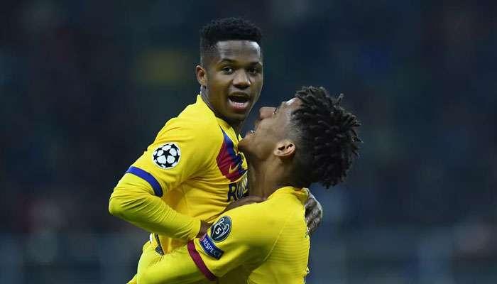 UEFA Champions League 2019-20: কনিষ্ঠতম ফুটবলার হিসেবে গোল করে রেকর্ডবুকে বার্সেলোনার এই ফুটবলার