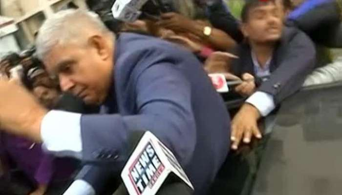 Governor faces resistance at Jadavpur University