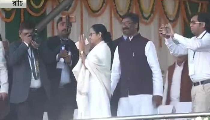 United opposition at Jharkhand Hemant Soren's oath taking
