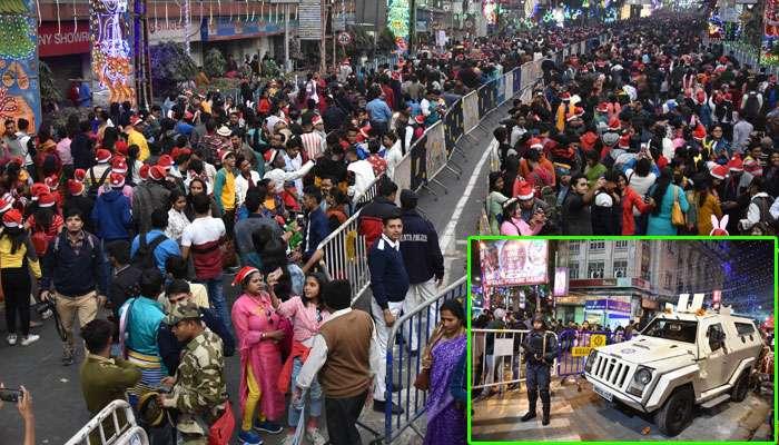 বর্ষবরণের রাতে বিশৃঙ্খলা মোকাবিলায় কলকাতা পুলিসের বিশেষ 'ক্র্যাক টিম'