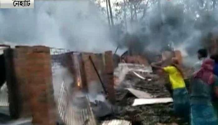 massive blast in a fire cracker factory  in naihati