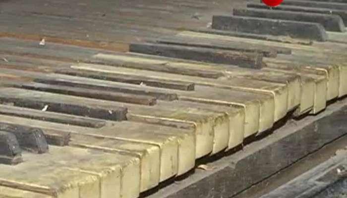 Tagore's Piano getting restored