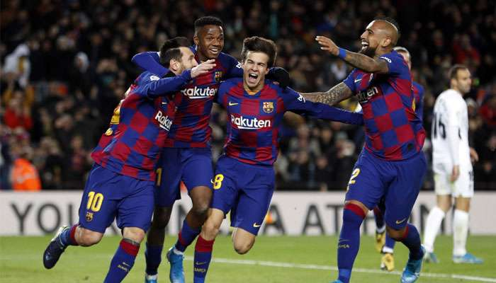 La Liga 2019-20: মেসির গোলে লিগ শীর্ষে বার্সেলোনা