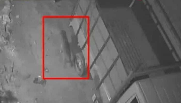 Fishing Cat caught on CCTV at Konnagar