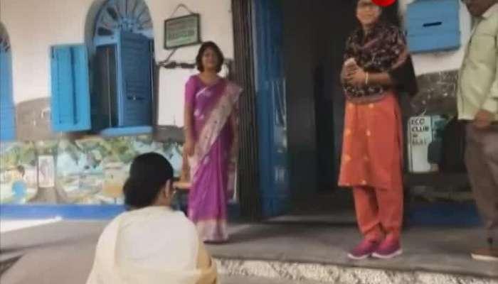 Mamata Banerjee vosots schools before Madhyamik Examination to greet students