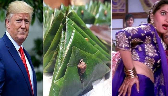 নৈশভোজে 'মাধুরী স্পেশাল' পানেই ঠোঁট রাঙাবেন ট্রাম্প, হবে মিষ্টিমুখ