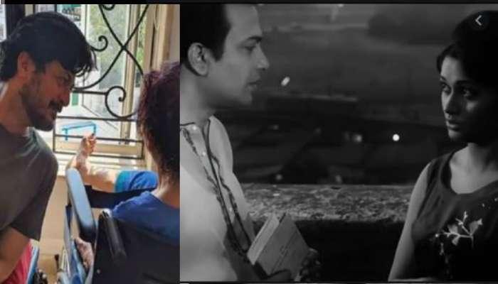 বর্ষীয়ান অভিনেত্রী তথা শাশুড়িমা অঞ্জনা ভৌমিকের সঙ্গে লকডাউনের মুহূর্তে যীশু সেনগুপ্ত