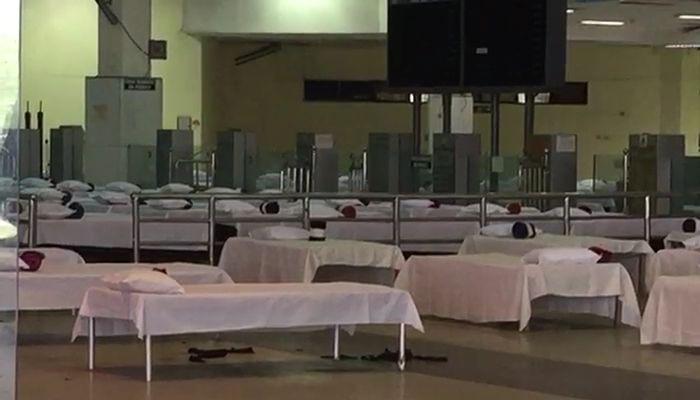 বিমান পরিষেবা চালু হওয়ার আগেই কলকাতা বিমানবন্দরে প্রস্তুত কোয়ারেন্টাইন সেন্টার