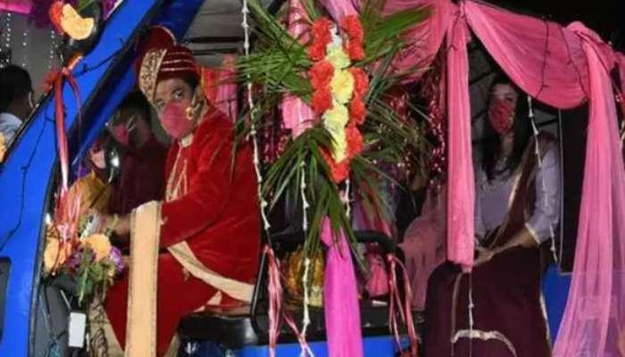 লকডাউনে ই-রিক্সা করে নববধূকে বাড়ি নিয়ে এলেন ইন্ডিয়ান আইডল খ্যাত অভিষেক