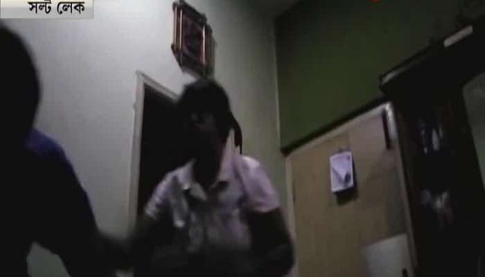 Wife beats husband at saltlake, west bengal