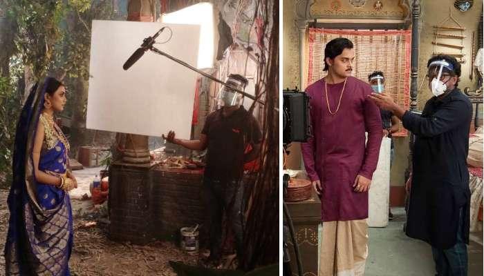 করোনা আবহে কীভাবে হচ্ছে 'কপালকুণ্ডলা' শ্যুটিং? দেখুন ছবি