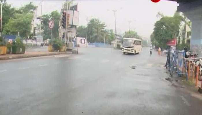 West Bengal Weekly Lockdown: Kolkata Police has been active from the morning to maintain strict lockdown