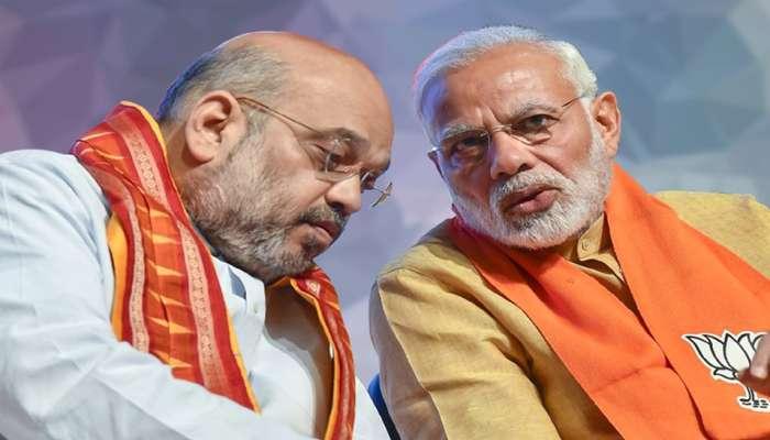 """করোনা আক্রান্ত অমিত শাহ, মোদী নিরব! প্রশ্নে """"ভূমি পূজার"""" জাঁকজমক"""