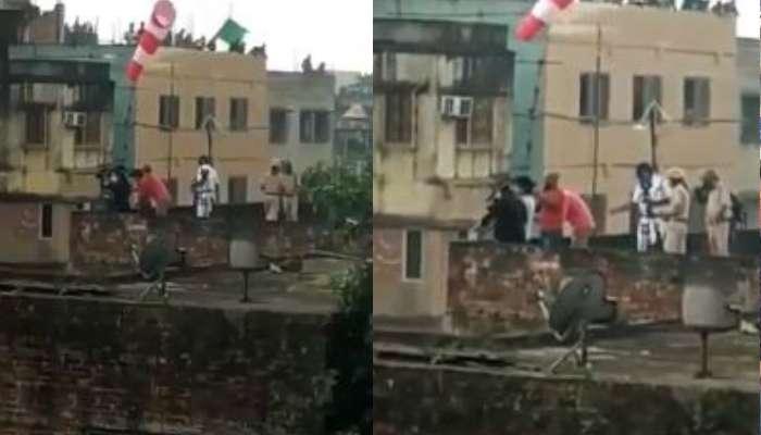 ছাদ থেকে BJP-র মিছিলে বোমা ছুড়ছে পুলিস, টুইট-ভিডিয়োয় অভিযোগ কৈলাসের