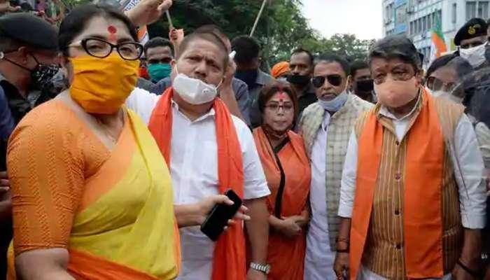 মহামারি আইন ভাঙায় মুকুল-কৈলাসের নামে FIR, TMC-কে ছাড় কেন? প্রশ্ন দিলীপের