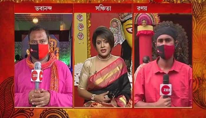 Durga Puja 2020: BJP's Durga Puja at saltlake EZCC